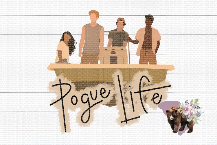 Pogue Life PNG File / Sublimation Clipart File example image 1