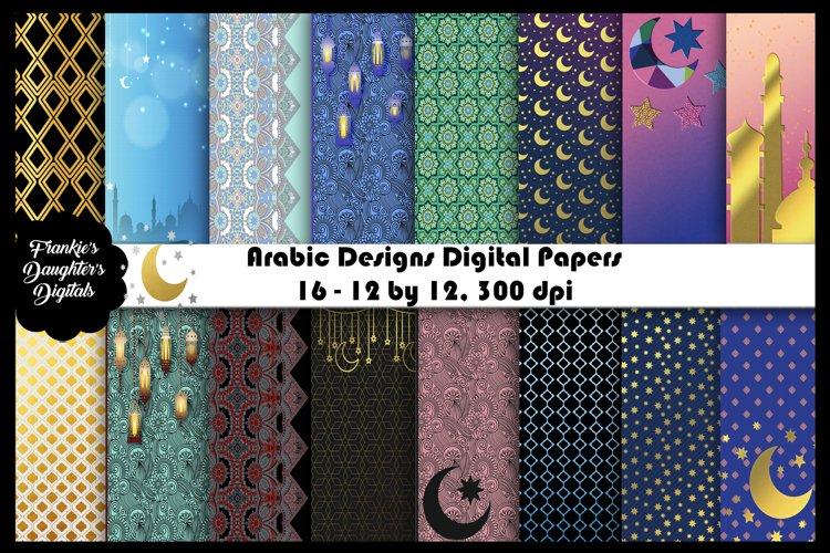 Arabic Designs Variety Digital Papers