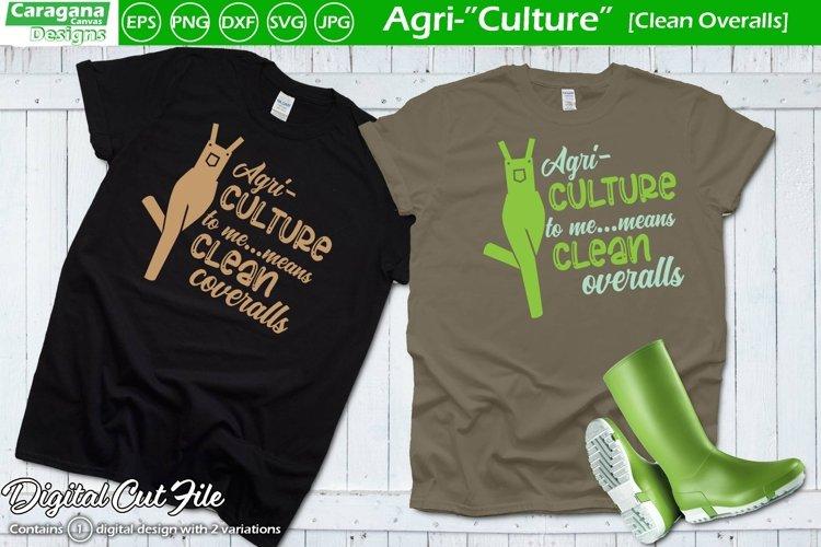 Agri-Culture - Clean Overalls