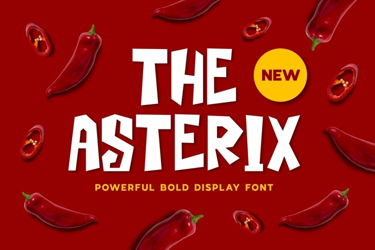 Web Font Asterix Font example image 1