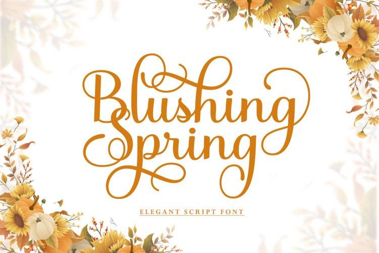 Blushing Spring example image 1