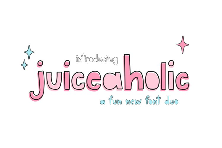 Juiceaholic Font Duo example image 1