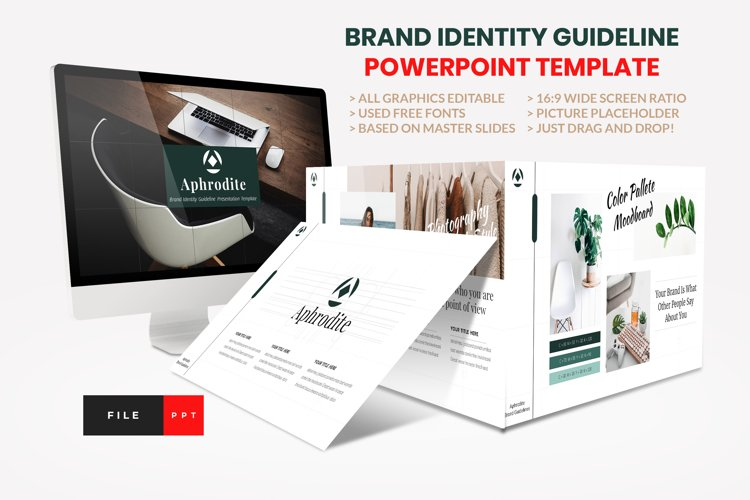 Brand Identity Guideline PowerPoint Template example image 1
