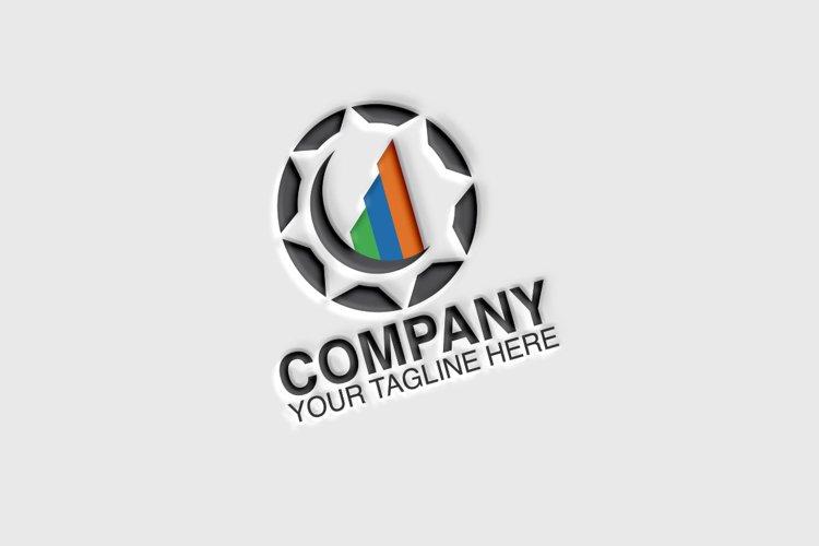 Market, Circle Vector Logo Template example image 1