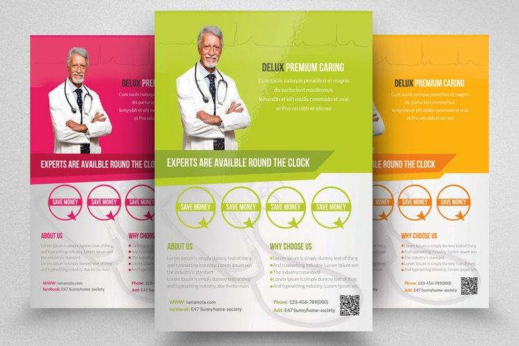 Health & Medical Doctor Flyer example image 1