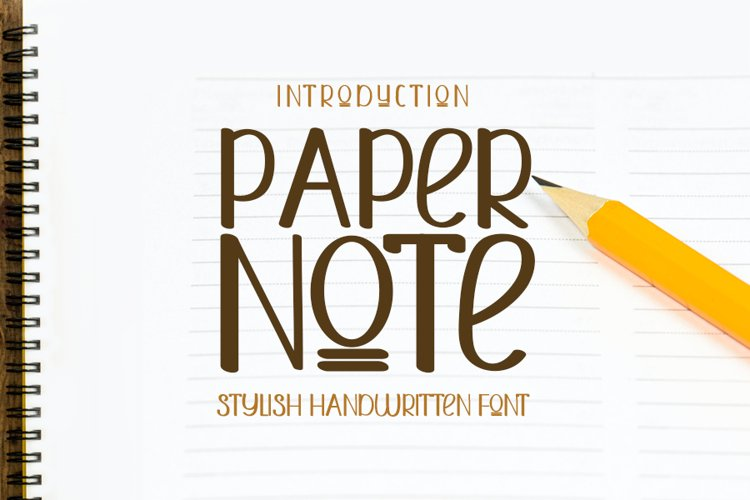 Paper Note example image 1