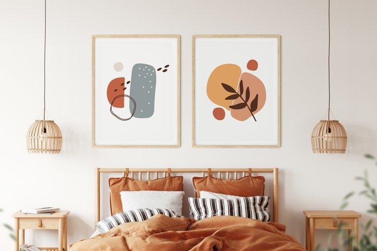 Boho Abstract Wall Print, Abstract Wall Art, Minimal Poster example image 1
