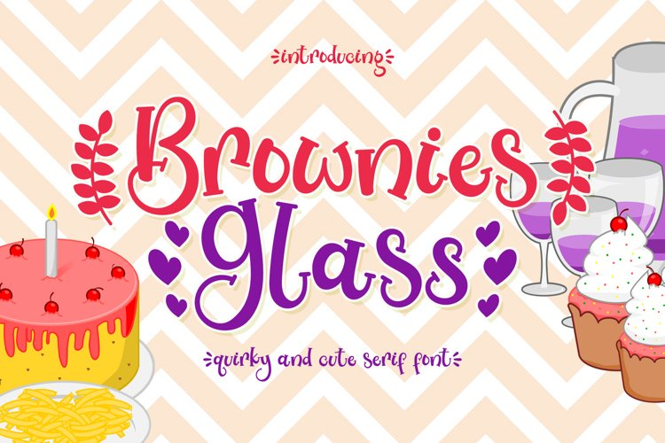Brownies Glass example image 1