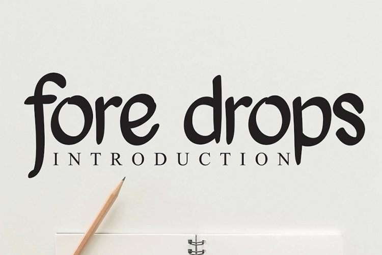 fore drops example image 1