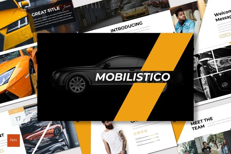 Mobilistico - Powerpoint Template example image 1