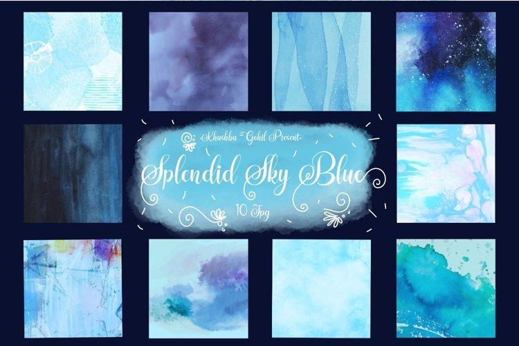 Splendid Sky Blue example image 1