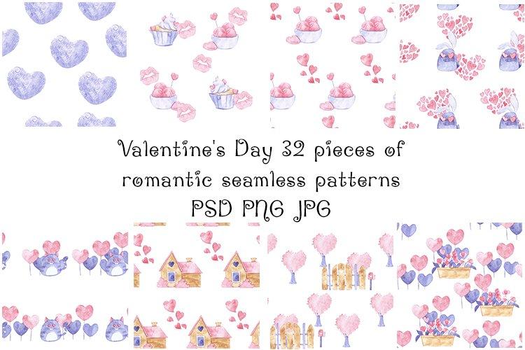 Romantic Valentines Day Patterns