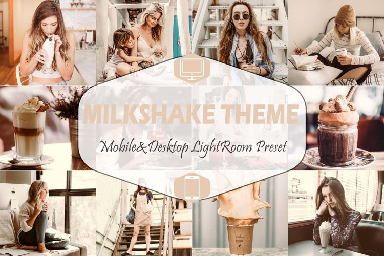 Milkshake Mobile & Desktop Lightroom Presets, Peachy LR example image 1