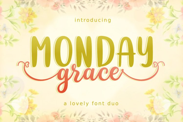 Monday Grace example image 1