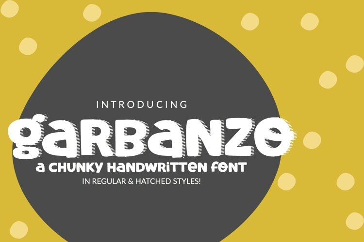 Garbanzo Handwritten Font example image 1