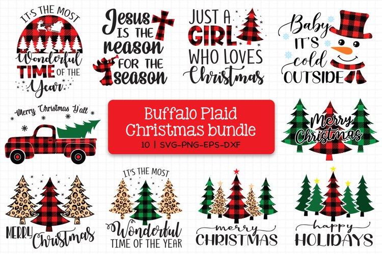 Buffalo Plaid Christmas Bundle