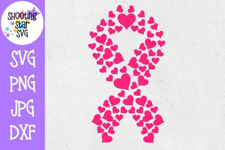 Heart Breast Cancer Awareness SVG - Breast Cancer SVG