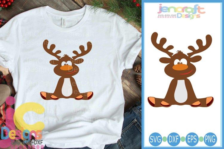 Boy Reindeer SVG - Christmas SVG cut file