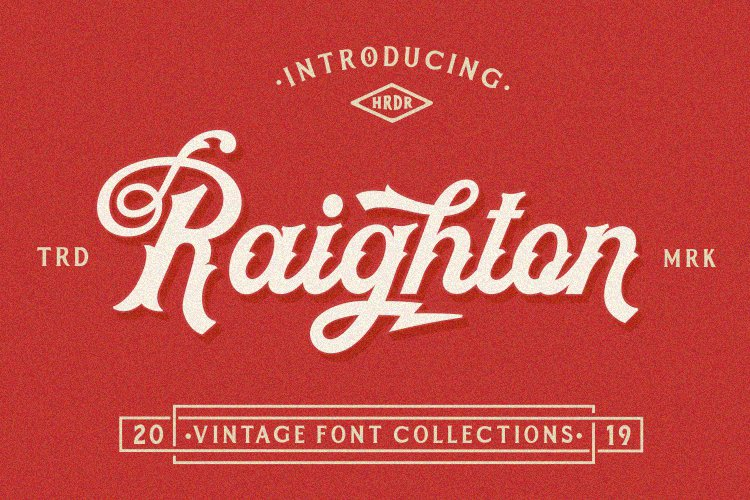 Raighton Font Collections! example image 1