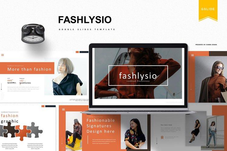 Fashlysio | Google Slides Template example image 1