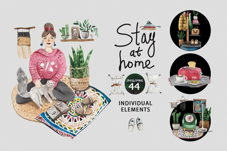 Stay at home example image 1