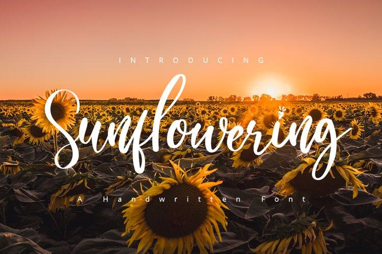 Sunflowering example image 1