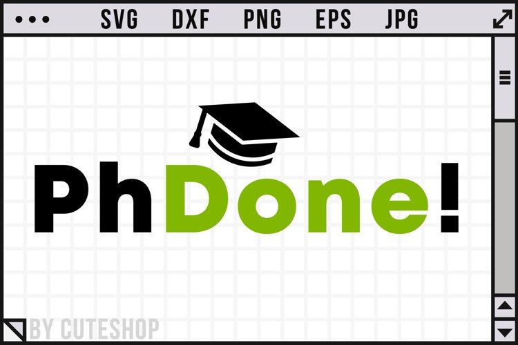PhD | PhDone - SVG Cut File