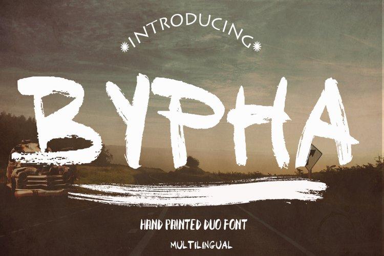 Baypha 2 Fonts