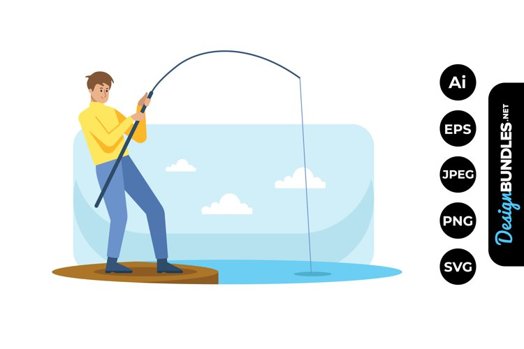 Fishing Clipart example image 1