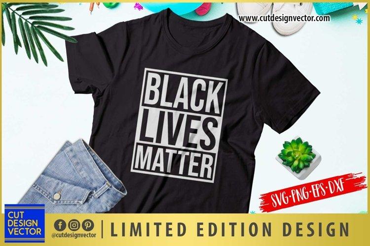Black Lives Matter SVG example image 1