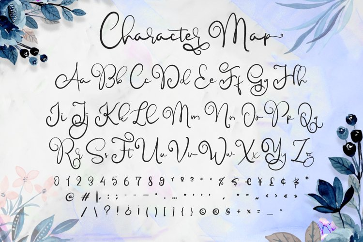 Childish - A Lovely Font Calligraphy example 5