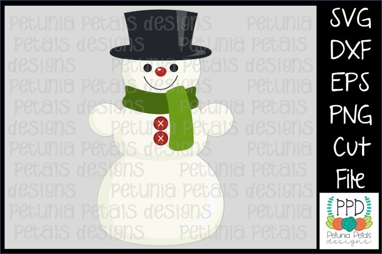 Toy Snowman SVG 11222 example image 1