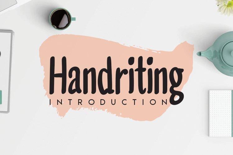 Handriting example image 1