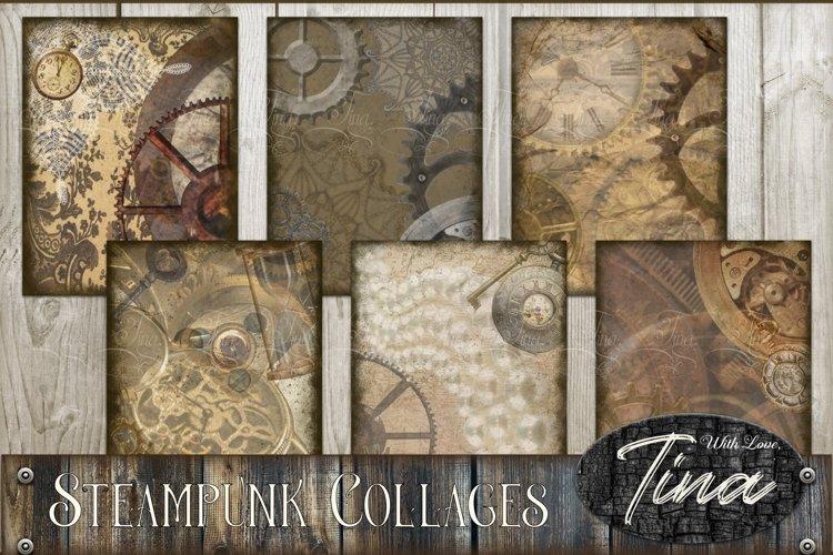 STEAMPUNK PRESTIGE Collage Scrapbook Artwork 091618SP1