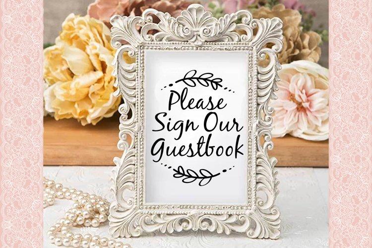Wedding Reception Signs SVG Cut Files-DXF-AI-SVG-JPG-PNG-PDF - Free Design of The Week Design1