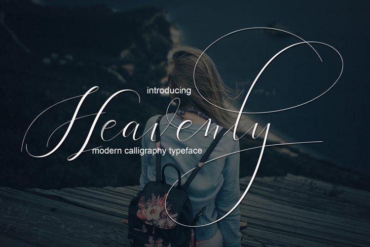 Heavenly Script | WEB FONT