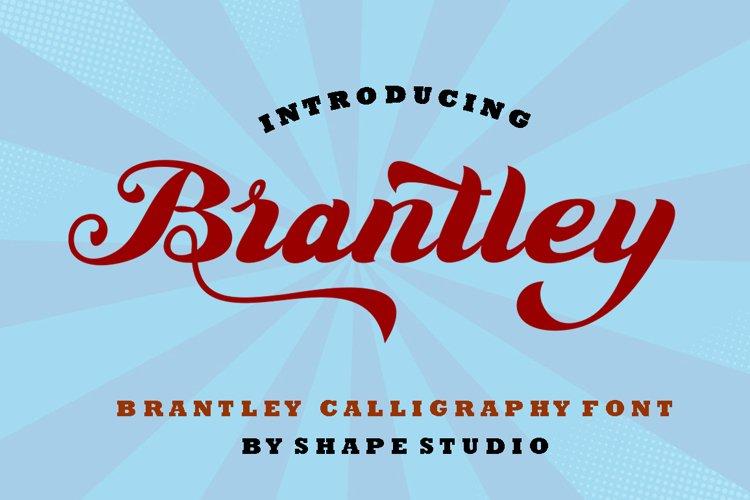Brantley Script example image 1