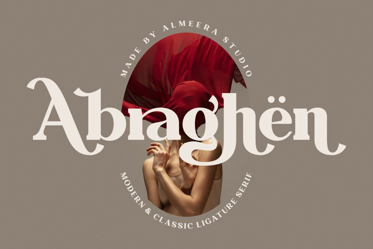 Abraghen | Ligature Serif example image 1