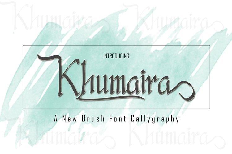 Khumaira Brush example image 1