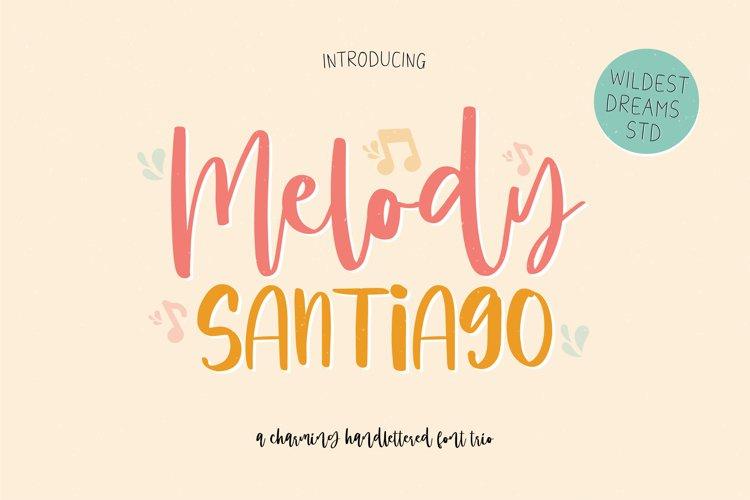 Melody Santiago Font Trio example image 1