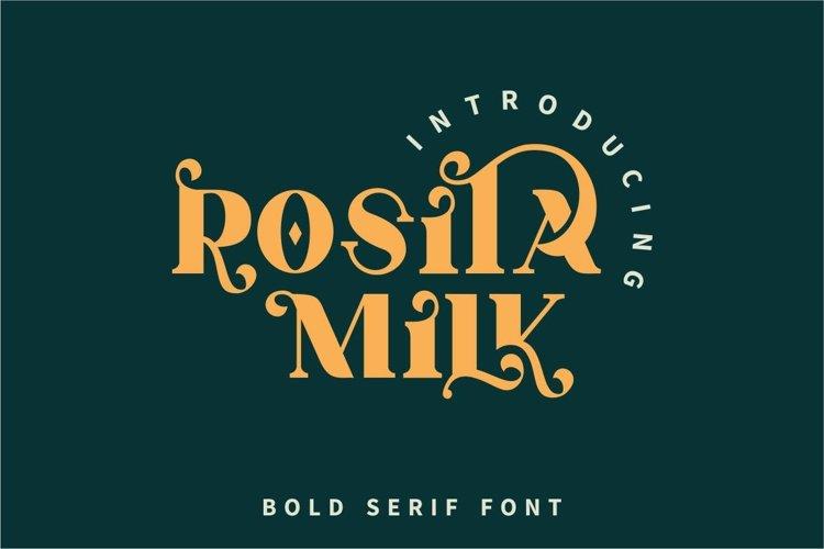 Rosita Milk example image 1