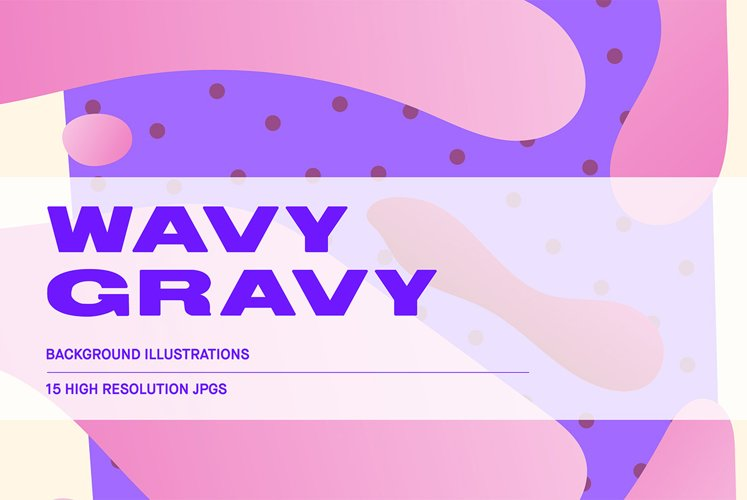 Wavy Gravy - Background Illustrations