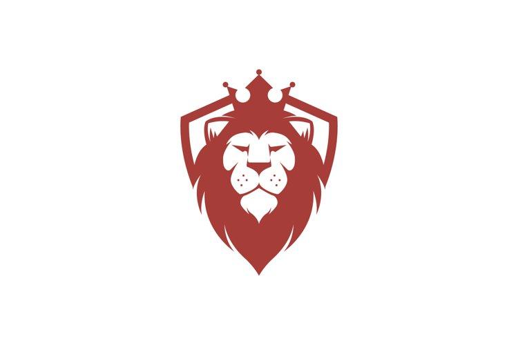 Lion King Shield Logo example image 1