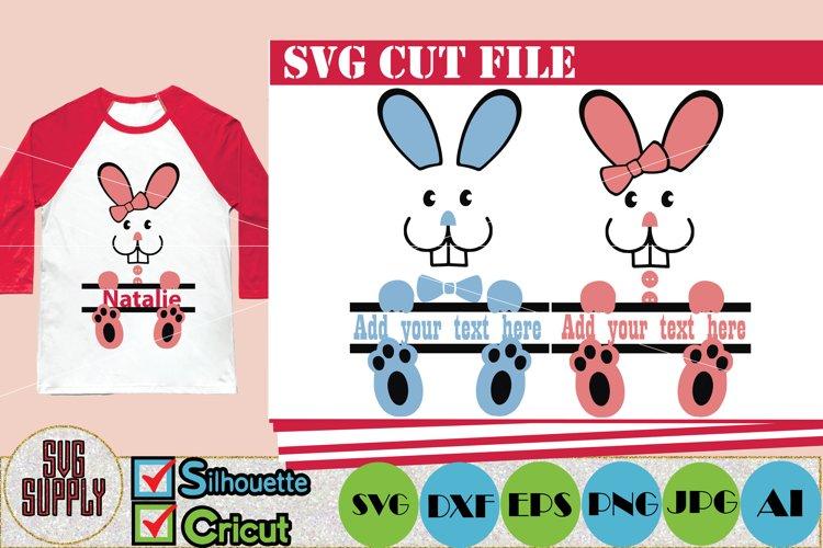 Easter Bunny SVG Cut File