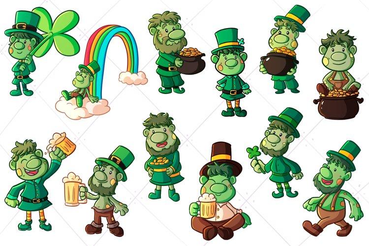 St Patricks Day Trolls Clip Art
