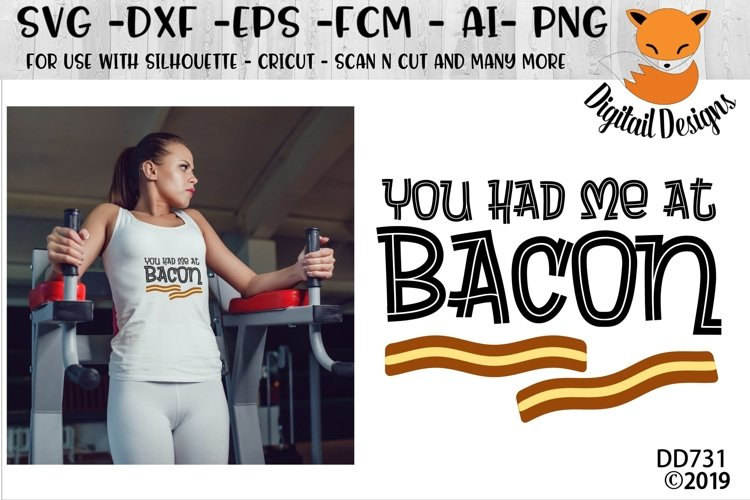 You Had Me At Bacon Keto Diet SVG example image 1