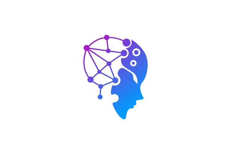 Tech Head Logo example image 1