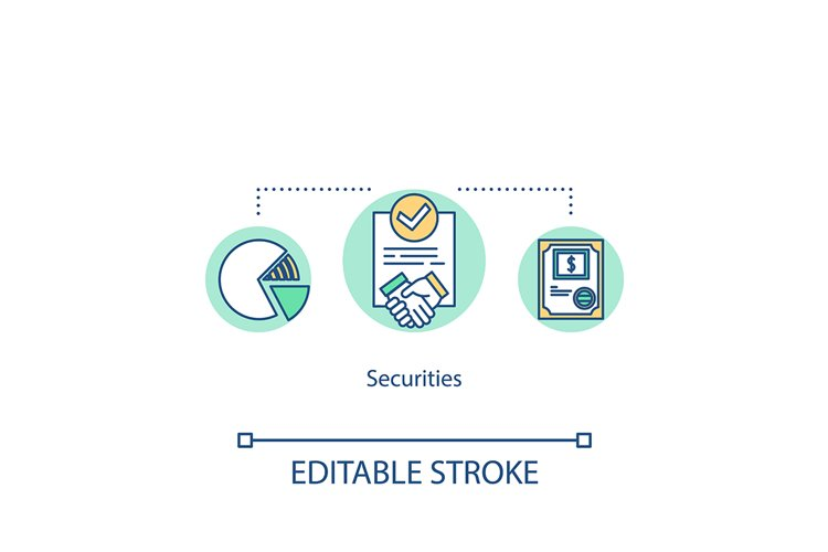 Securities concept icon example image 1