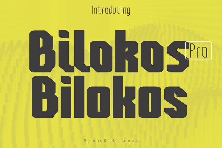 Bilokos Pro Expanded example image 1