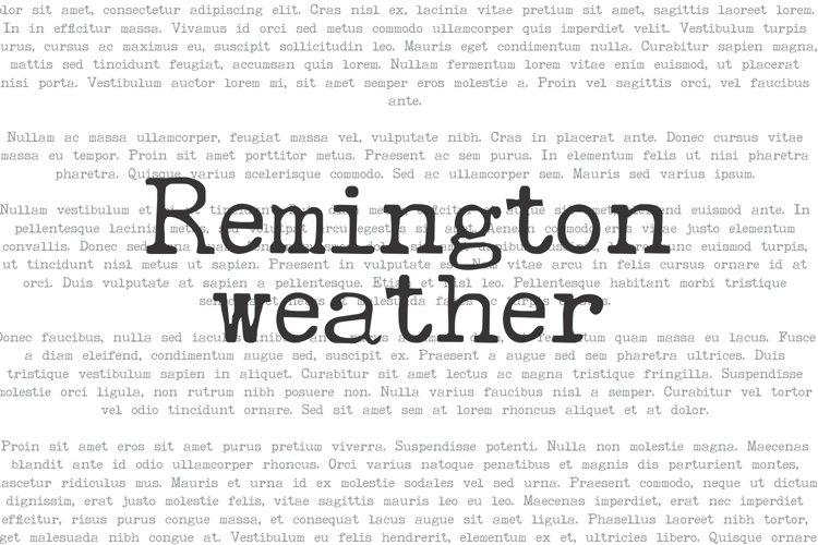 Remington Weather